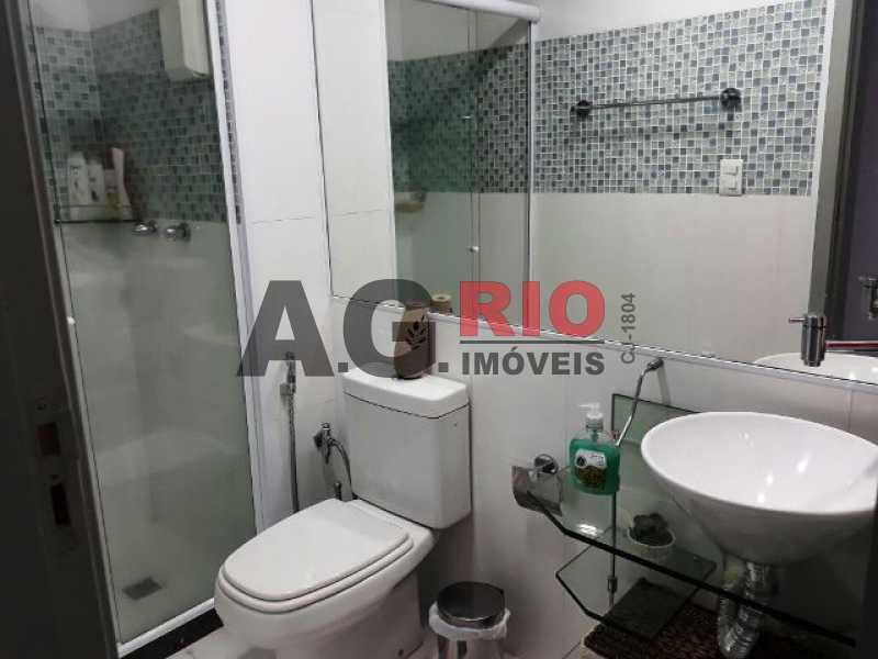 BANHEIRO SOCIAL - Cobertura 2 quartos à venda Rio de Janeiro,RJ - R$ 430.000 - AGV60890 - 16