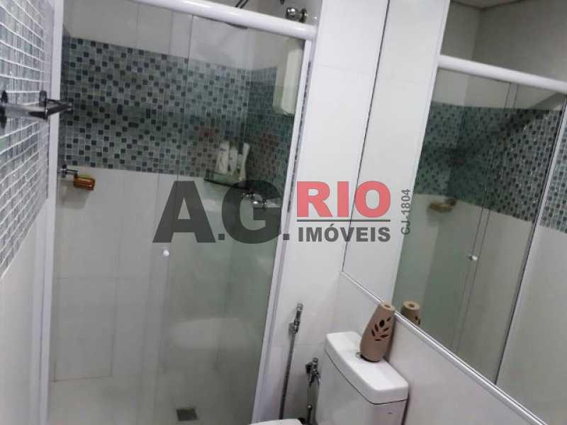 BANHEIRO SOCIAL 1 - Cobertura 2 quartos à venda Rio de Janeiro,RJ - R$ 430.000 - AGV60890 - 17
