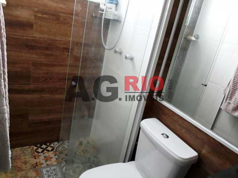 BANHEIRO SUÍTE - Cobertura 2 quartos à venda Rio de Janeiro,RJ - R$ 430.000 - AGV60890 - 18