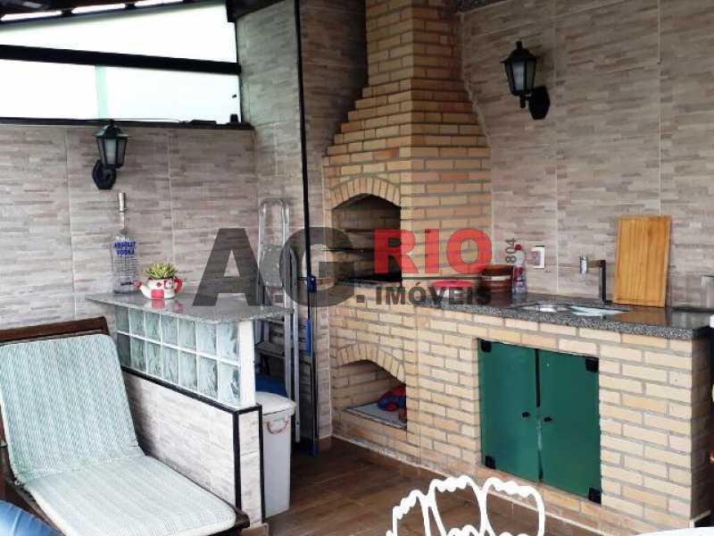 ÁREA GOURMET  - Cobertura 2 quartos à venda Rio de Janeiro,RJ - R$ 430.000 - AGV60890 - 21