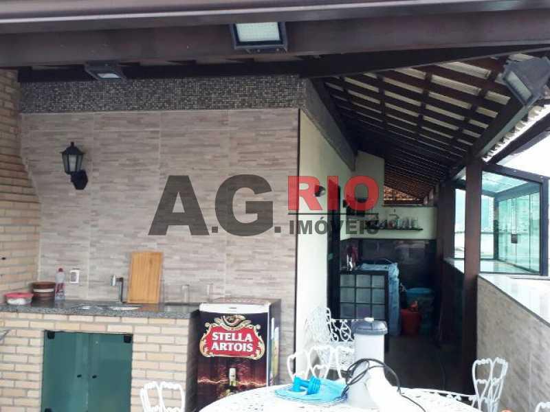 ÁREA GOURMET 1 - Cobertura 2 quartos à venda Rio de Janeiro,RJ - R$ 430.000 - AGV60890 - 22