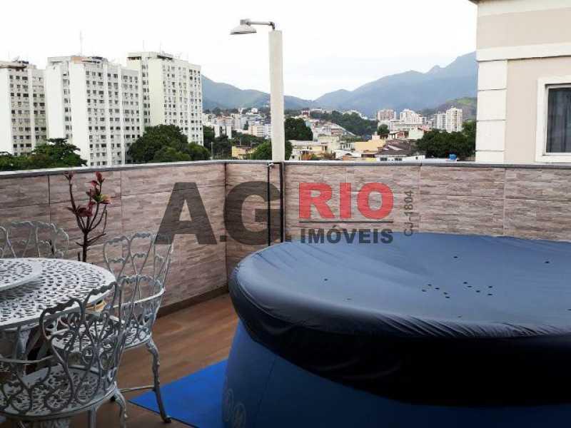 COBERTURA - Cobertura 2 quartos à venda Rio de Janeiro,RJ - R$ 430.000 - AGV60890 - 24