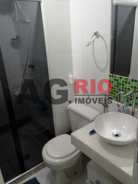 BANHEIRO - Apartamento À Venda Estrada Pau-Ferro,Rio de Janeiro,RJ - R$ 310.000 - AGF30915 - 19