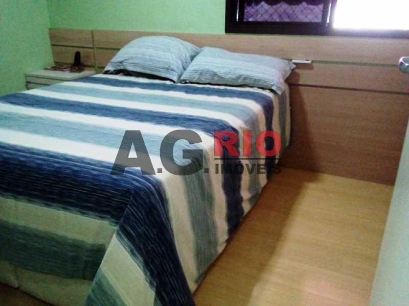 QUARTO 1 - Apartamento À Venda no Condomínio RainbowPark - Rio de Janeiro - RJ - Pechincha - AGF30915 - 4