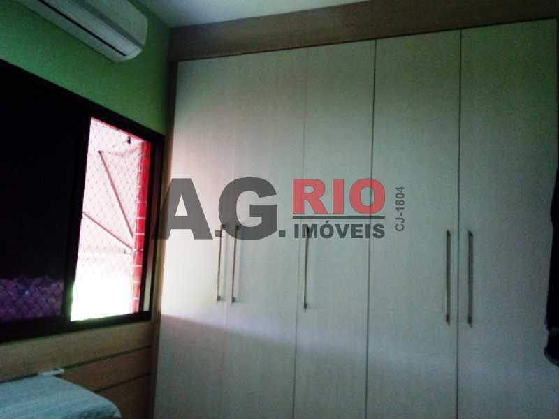 QUARTO 1 - Apartamento À Venda no Condomínio RainbowPark - Rio de Janeiro - RJ - Pechincha - AGF30915 - 5