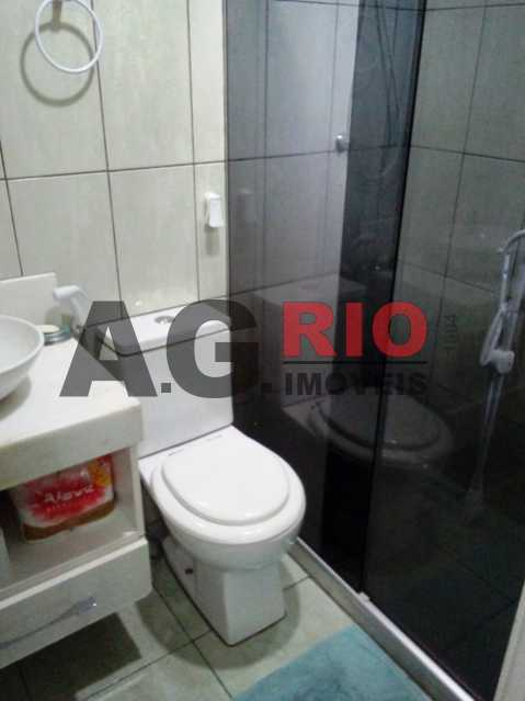 BANHEIRO - Apartamento À Venda Estrada Pau-Ferro,Rio de Janeiro,RJ - R$ 310.000 - AGF30915 - 16