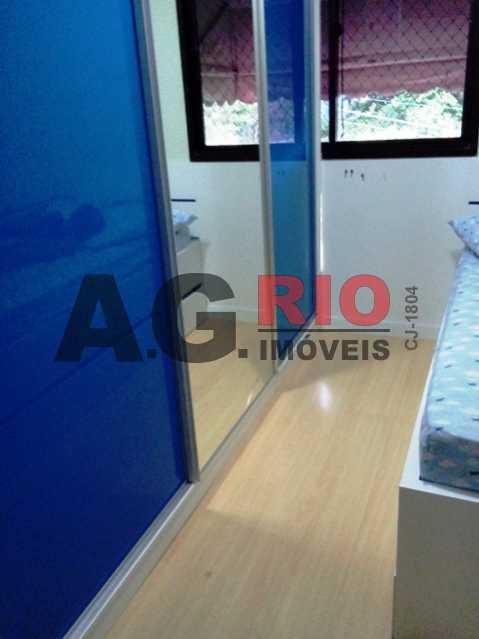 QUARTO - Apartamento À Venda no Condomínio RainbowPark - Rio de Janeiro - RJ - Pechincha - AGF30915 - 7