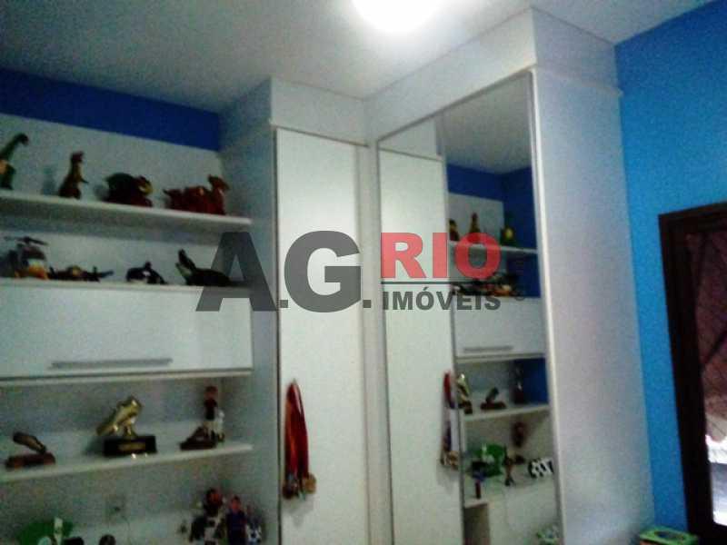 QUARTO - Apartamento À Venda Estrada Pau-Ferro,Rio de Janeiro,RJ - R$ 310.000 - AGF30915 - 15