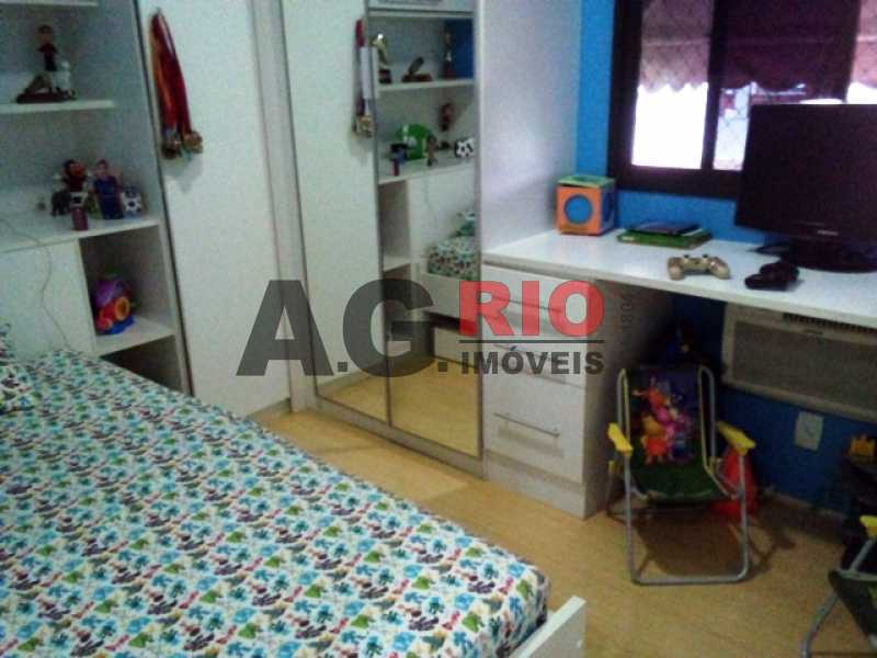 QUARTO - Apartamento À Venda Estrada Pau-Ferro,Rio de Janeiro,RJ - R$ 310.000 - AGF30915 - 13