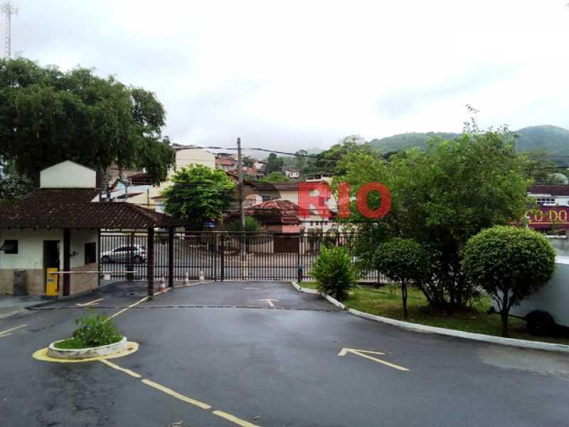 ENTRADA DO CONDOMÍNIO - Apartamento À Venda Estrada Pau-Ferro,Rio de Janeiro,RJ - R$ 310.000 - AGF30915 - 1