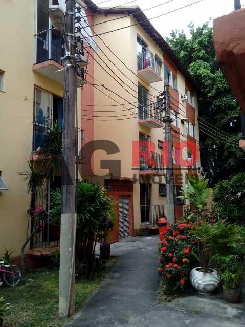 patio externo - Apartamento em condomínio À Venda - Condomínio Ouro Preto III - Rio de Janeiro - RJ - Freguesia (Jacarepaguá) - FRAP20001 - 1