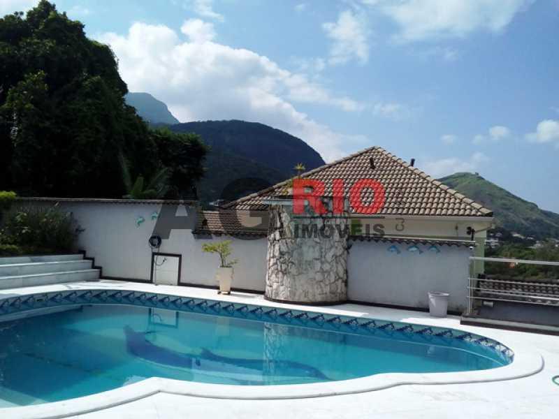 PISCINA - Casa À Venda no Condomínio MORADAS DA FREGUESIA - Rio de Janeiro - RJ - Freguesia (Jacarepaguá) - FRCN30002 - 3