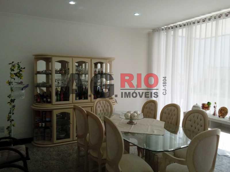 SALA - Casa À Venda no Condomínio MORADAS DA FREGUESIA - Rio de Janeiro - RJ - Freguesia (Jacarepaguá) - FRCN30002 - 7