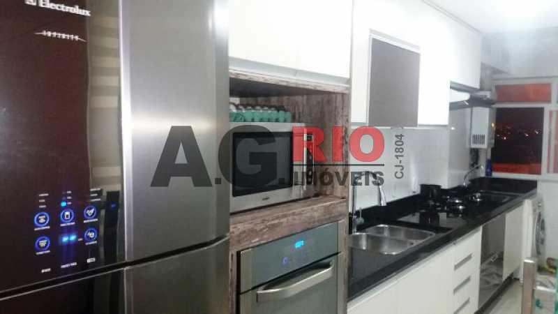 COZINHA - Apartamento À Venda no Condomínio Vivae Residencial Club - Rio de Janeiro - RJ - Vila Valqueire - VVAP30015 - 19