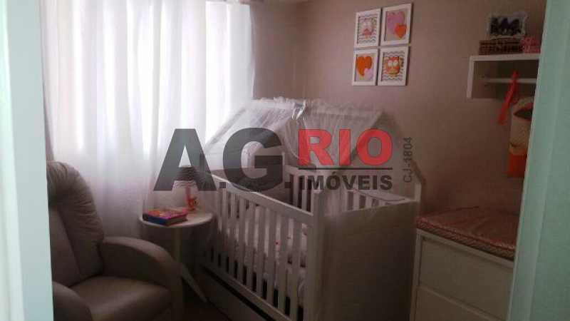 QUARTO - Apartamento À Venda no Condomínio Vivae Residencial Club - Rio de Janeiro - RJ - Vila Valqueire - VVAP30015 - 12