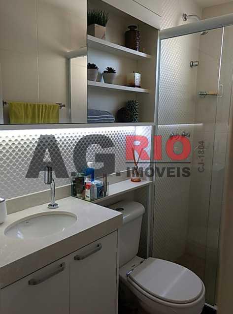 banheiro - Apartamento Rio de Janeiro,Campinho,RJ À Venda,2 Quartos,46m² - VVAP20079 - 10