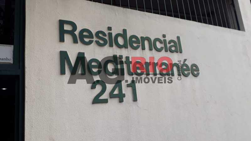 1. - Apartamento Para Alugar no Condomínio Mediterranê - Rio de Janeiro - RJ - Pechincha - FRAP30038 - 1