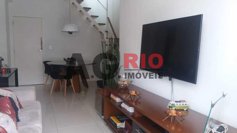 e0200a22-4dbe-4685-9523-52e1e1 - Cobertura À Venda no Condomínio Del Bosco - Rio de Janeiro - RJ - Jacarepaguá - FRCO20005 - 3