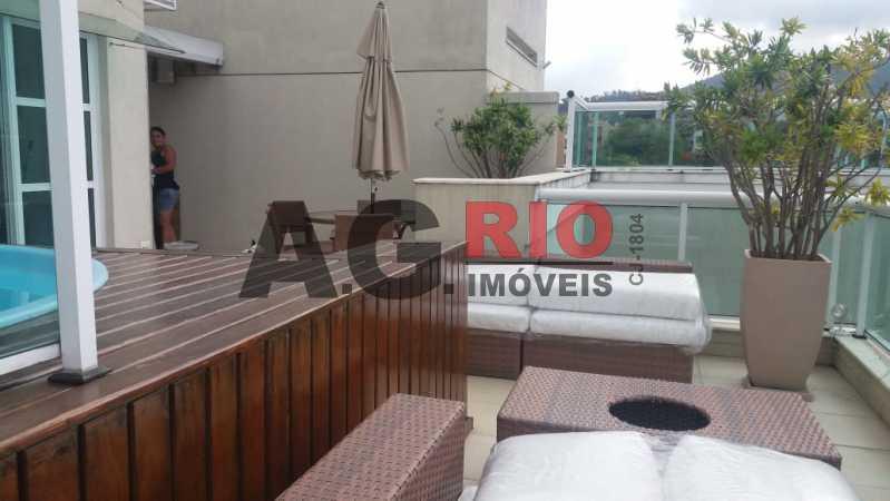4c341861-5788-4883-a579-f6ad90 - Cobertura À Venda no Condomínio Del Bosco - Rio de Janeiro - RJ - Jacarepaguá - FRCO20005 - 5