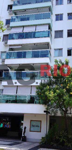 VARANDÃO - Apartamento Rio de Janeiro,Barra da Tijuca,RJ À Venda,3 Quartos,88m² - VVAP30114 - 3