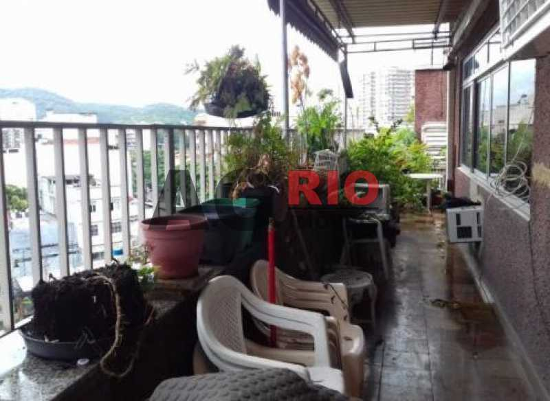Varanda - Cobertura 4 quartos à venda Rio de Janeiro,RJ - R$ 1.280.000 - FRCO40001 - 18