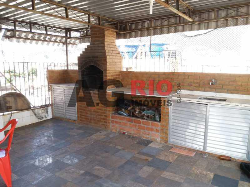 Terraço e churrasqueira - Cobertura 4 quartos à venda Rio de Janeiro,RJ - R$ 1.280.000 - FRCO40001 - 23
