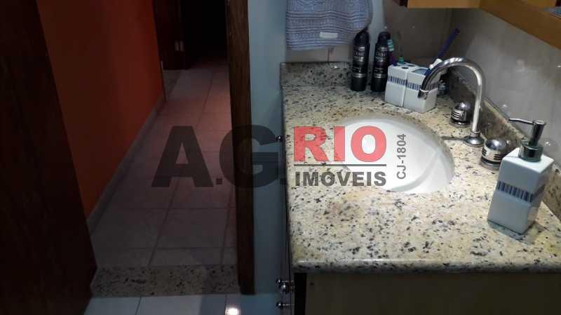 22.banheiro.social.1 - Apartamento 3 quartos à venda Rio de Janeiro,RJ - R$ 380.000 - VVAP30136 - 11
