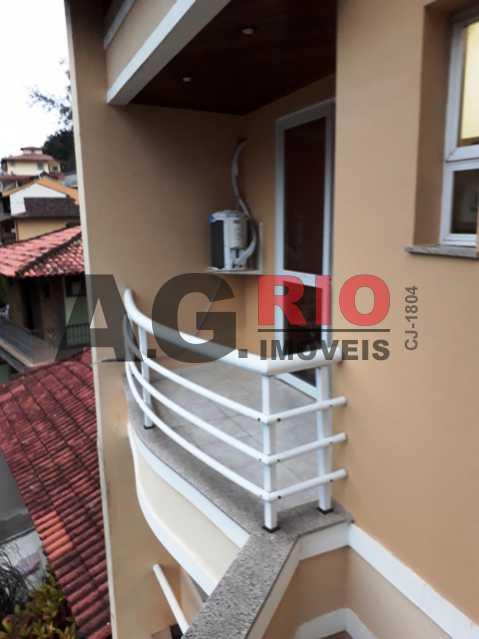 3º Piso - Quarto 1 - Varanda - Casa em Condomínio 3 quartos à venda Rio de Janeiro,RJ - R$ 1.800.000 - VVCN30075 - 22