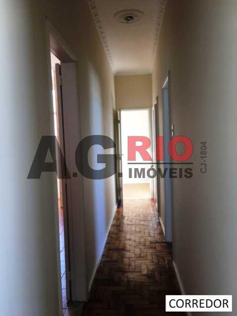 CORREDOR - Apartamento Rio de Janeiro, Cascadura, RJ À Venda, 2 Quartos, 85m² - VVAP20511 - 15