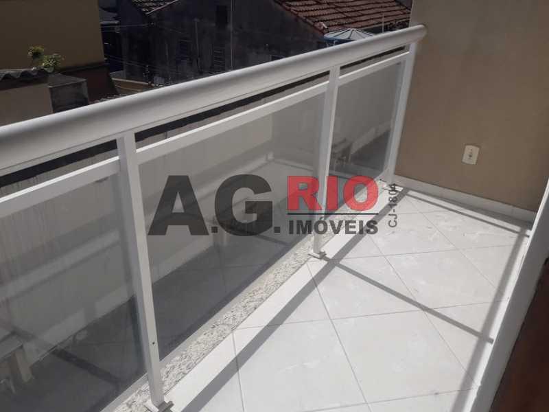 2. varanda - Casa em Condomínio 2 quartos à venda Rio de Janeiro,RJ - R$ 430.000 - VVCN20049 - 3