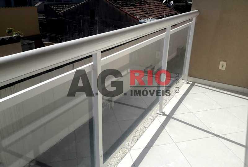 9. varanda - Casa em Condomínio 2 quartos à venda Rio de Janeiro,RJ - R$ 430.000 - VVCN20049 - 10