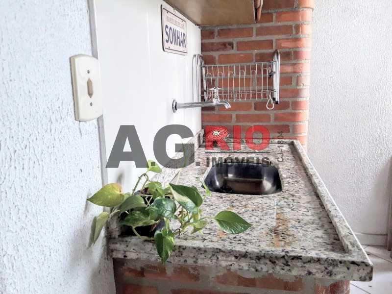 14. terraço - Casa em Condomínio 2 quartos à venda Rio de Janeiro,RJ - R$ 430.000 - VVCN20049 - 15