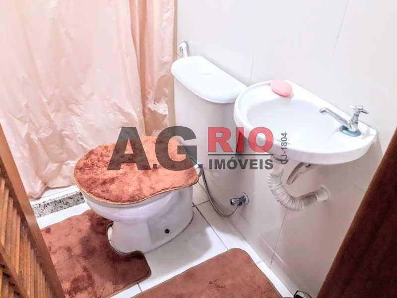 15. banheiro terraço - Casa em Condomínio 2 quartos à venda Rio de Janeiro,RJ - R$ 430.000 - VVCN20049 - 16