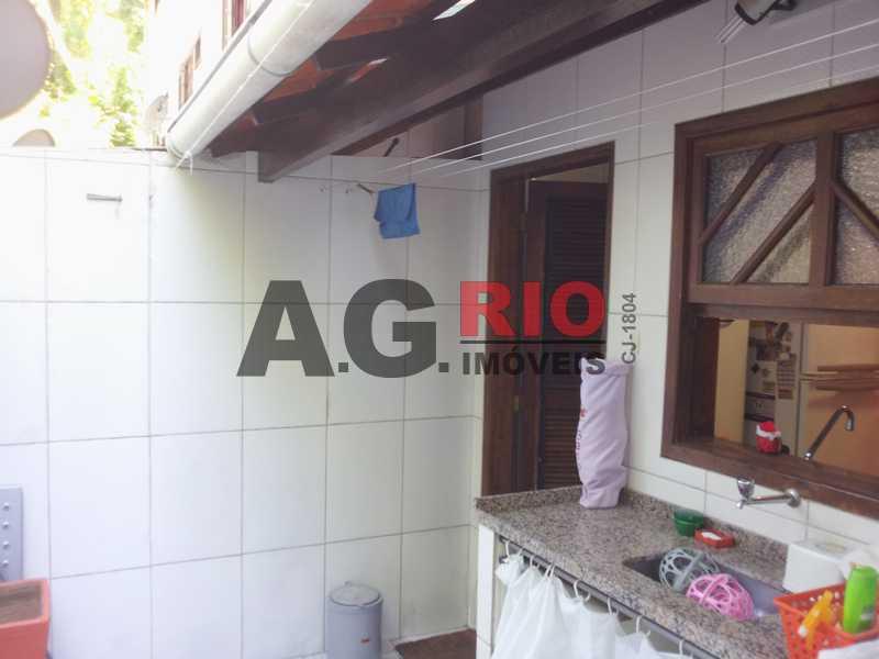 5areadeserviço - Casa em Condomínio 3 quartos à venda Rio de Janeiro,RJ - R$ 299.000 - VVCN30103 - 13