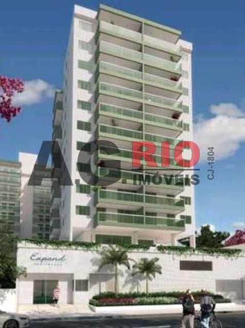 FACHADA - Apartamento 3 quartos à venda Rio de Janeiro,RJ - R$ 687.500 - VVAP30216 - 1