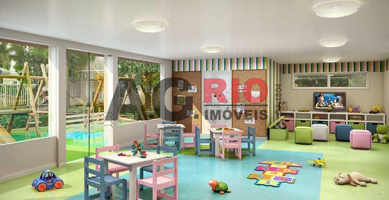 Brinquedoteca - Apartamento 2 quartos à venda Rio de Janeiro,RJ - R$ 209.000 - TQAP20502 - 17