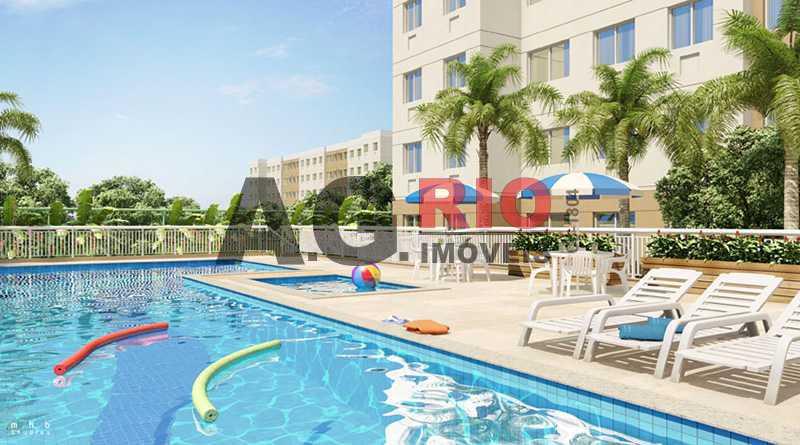 Piscina - Apartamento 2 quartos à venda Rio de Janeiro,RJ - R$ 209.000 - TQAP20502 - 13