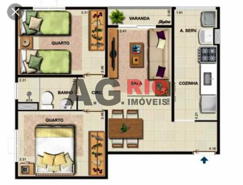 IMG-20201124-WA0063 - Apartamento 2 quartos à venda Rio de Janeiro,RJ - R$ 230.000 - VVAP20808 - 22