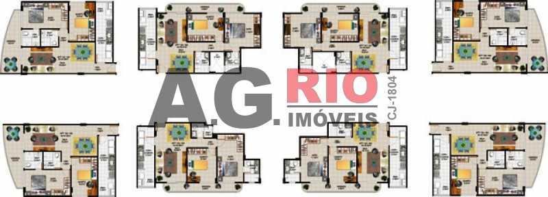 Humanizada modificada _bidos - Apartamento 2 quartos à venda Rio de Janeiro,RJ - R$ 470.000 - VVAP20857 - 17
