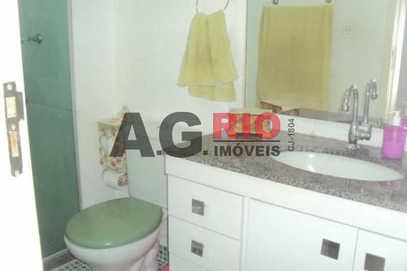 BANHEIRO SOCIAL - Cobertura 2 quartos à venda Rio de Janeiro,RJ - R$ 450.000 - TQCO20019 - 14