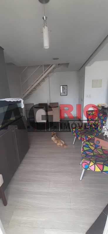Sala de Estar 02 - Cobertura 2 quartos à venda Rio de Janeiro,RJ - R$ 450.000 - TQCO20019 - 3