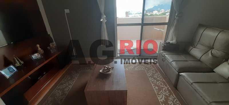Sala de TV - Cobertura 2 quartos à venda Rio de Janeiro,RJ - R$ 450.000 - TQCO20019 - 4