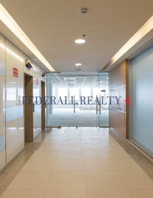hall elevadores - Salas comerciais À venda no Centro RJ - FRSL00035 - 16