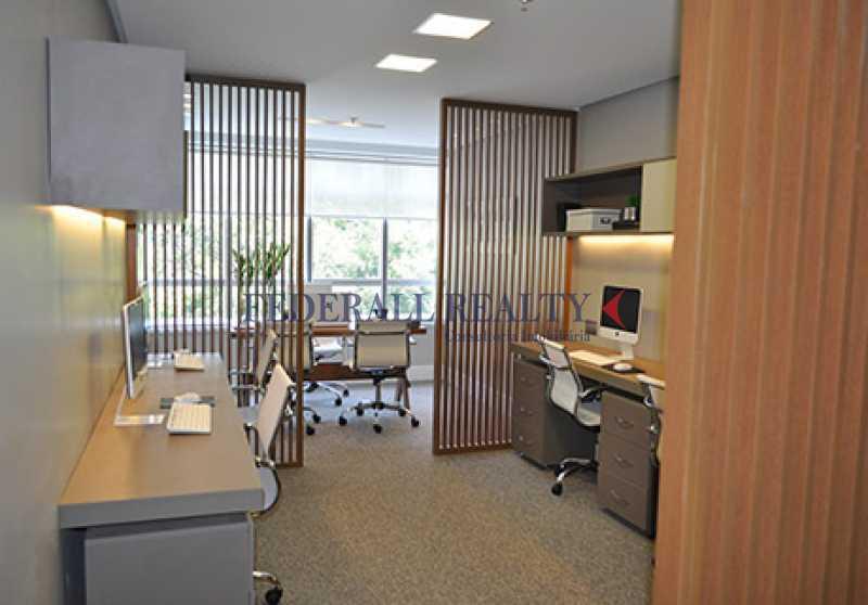 decorado-01 - Salas comerciais À venda no Centro RJ - FRSL00036 - 8