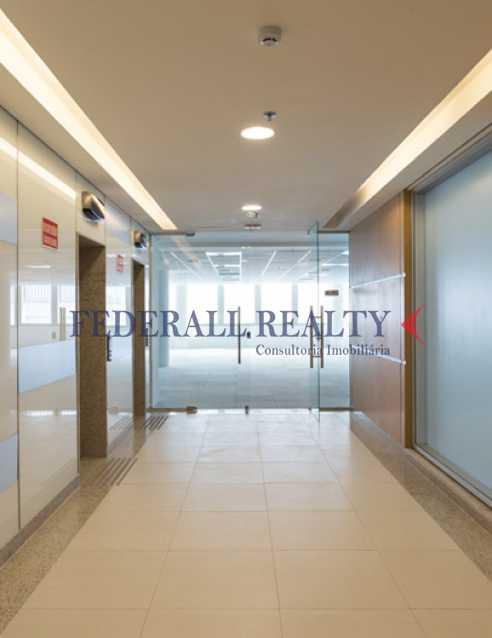hall elevadores - Salas comerciais À venda no Centro RJ - FRSL00036 - 16