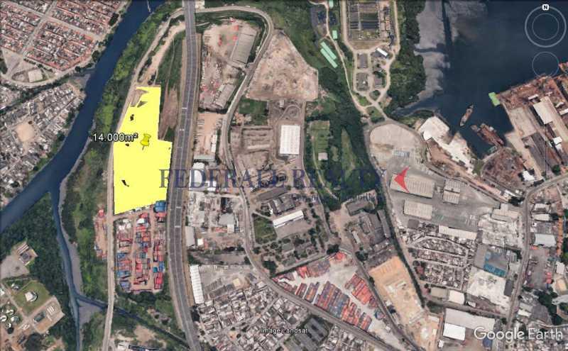 Mapa Localização 2 - Aluguel de terreno no Caju - FROU00001 - 8