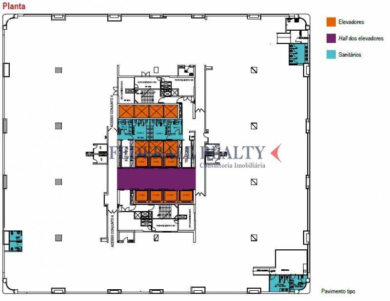 planta teleporto - Aluguel de salas comerciais na Cidade Nova - FRSL00060 - 23