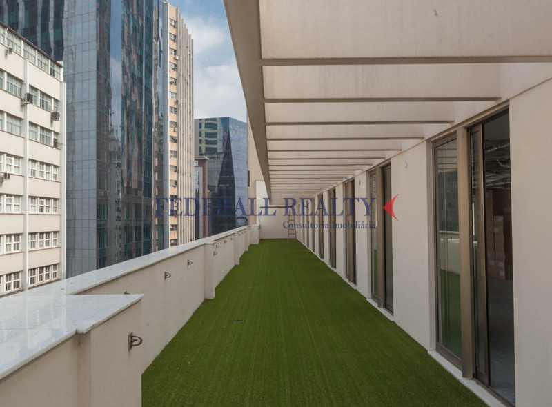 aluguel de salas comerciais no - Aluguel de prédio inteiro no Centro RJ - FRPR00017 - 16