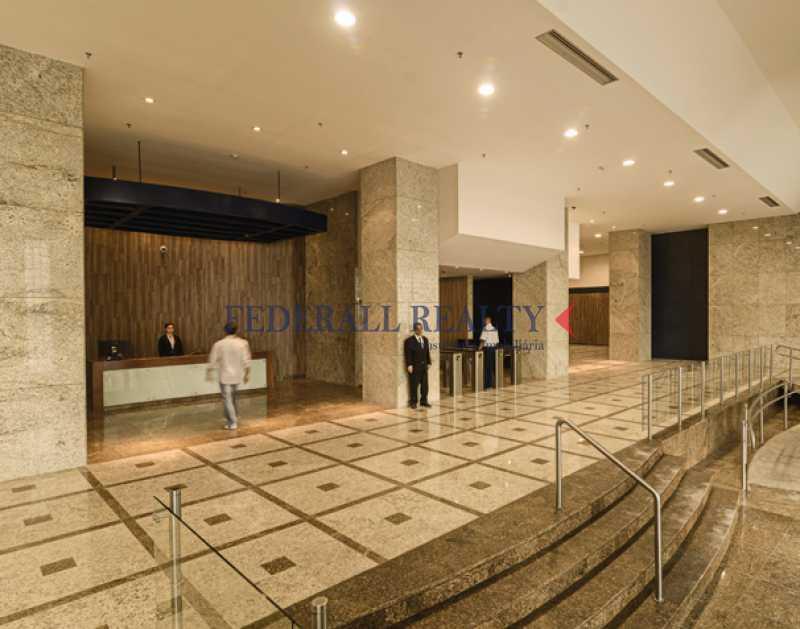 hall - Aluguel de andares corporativos no Centro RJ - FRSL00146 - 1