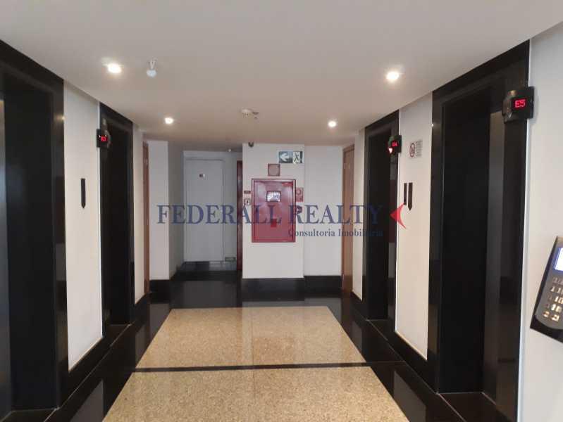 Hall elevad9°ar - Aluguel de andares corporativos no setor bancário norte em Brasília - FRSL00262 - 17